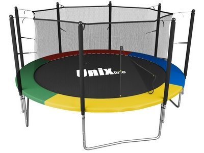 Батут UNIX line Simple 12 ft Color (inside)