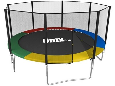 Батут UNIX line Simple 12 ft Color (outside)