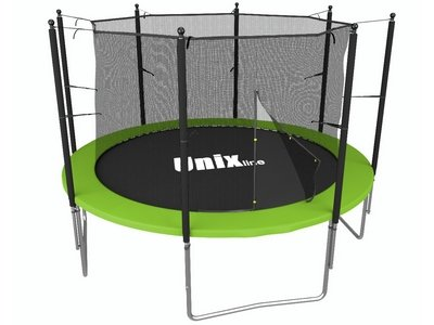 Батут UNIX line Simple 6 ft Green (inside)